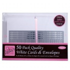Anita A6 Card envelope pack White