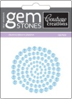 blue iceberg self adhesive gemstones from couture Creations