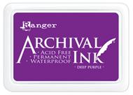 deep purple archival ink pad