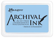 french ultramarine archival ink pad