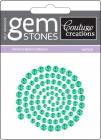 green envy self adhesive gemstones from Couture Creations