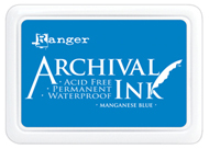 manganese blue archival ink pad