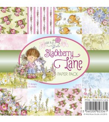 Blackberry Lane Paper Pack from Wild Rose Studio UK