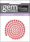 red lust self adhesive gemstonesfrom couture creations