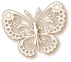 Butterfly Lace Die from Wild Rose Studio