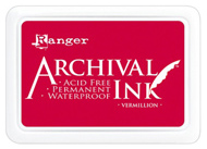 vermillion archival ink pad