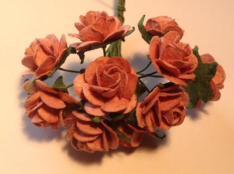 vintage dusky rose
