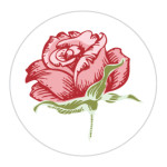 Rosie Red Sticker Large