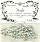 crystal 16mm bling petals