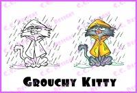 grouchy kitty
