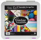CO721952 couture creations stackable storage box 12x13