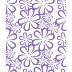 CO723688 retro flowers couture creations ambassador collection embossing folder