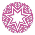 CO7238922 christmas star couture creations christmas lace ornamental lace dies