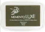 J7050-708 Olive Graove Memento Luxe Ink Pad
