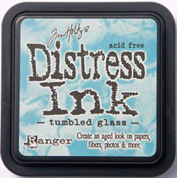 Tumbled Glass Distress Ink by Tim Holtz from Rangerink