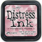 Victorian Velvet distress ink by Tim Holtz from Ranger Ink