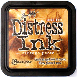 vintage photo distress ink by Time Holtz by Rangerink