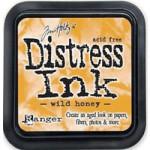 Wild Honey Distress Ink from Tim Holtz and Rangerink
