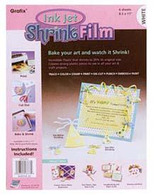 white inkjet shrink film