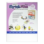 white shrink film