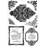 Lady Rose Clear Stamps from Kaisercraft