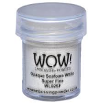 Opaque Seafoam White Super Fine WOW Embossing Powder