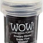 Primary Ebony Super Fine WOW Embossing Powder