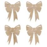 bows wooden flourish from Kaisercraft