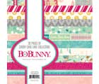 candy cane lane 6x6 paper pad from Bo Bunny