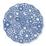 daisy doily die from Couture Creations