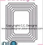 pierced oval Dies by DIEzyne from CC Designs