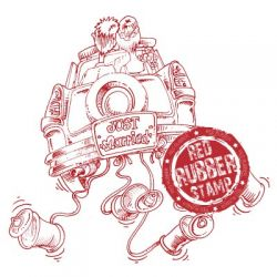 Just Married Car rubber stamp from Make It Crafty
