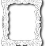 Calozonia Frame die from Memory Box