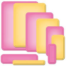 Nestabilities Card Creator A2 Curved Matting Basic B from Spellbinders