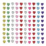 Rhinestone hearts from Artemio