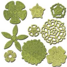 Tudor Rose Collection shapeabilities from spellbinders