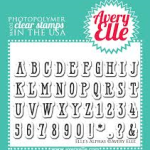 alphas stamp from Avery Elle