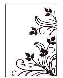 burst of spring embossing folder from Ecstasy crafts
