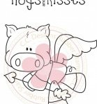 cupig rubber stamp by CC Designs
