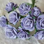 Lavender 15mm roses