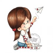 love messenger rubber stamp by A Random Fan