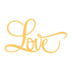 love script from the everyday essentials collection by couture creations