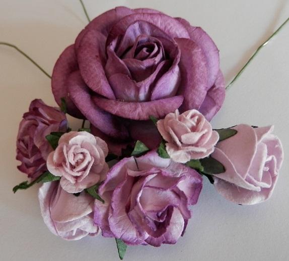 Lilac mixed roses