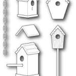 Birdhouse Villiage die from Memory Box