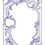 Hearts Ease Embroidery Embossing Folder from Courure Creations