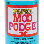 Mod Podge Paper matte from Plaid