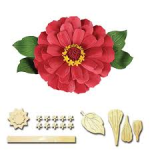 Zinnia die set from Spellbinders