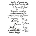Wedding Innies and Outies clear stamp set from My Sentiments Exactly