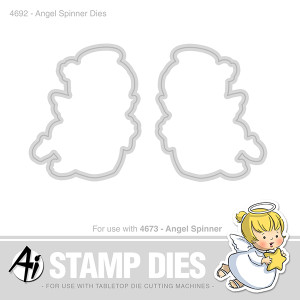 Angel Spinner die set from Art Impressions