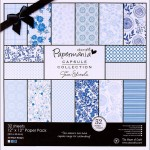 Burleigh Blue Paper Pack from DoCraft Papermania